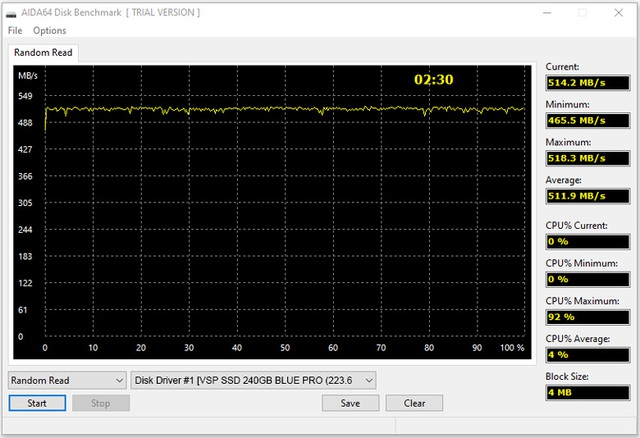 Muốn cải thiện tốc độ PC đang ngày một ì ạch mà không tốn quá nhiều chi phí, bạn nên đầu tư ngay ổ SSD VSPTECH 960G Blue Pro - Ảnh 5.
