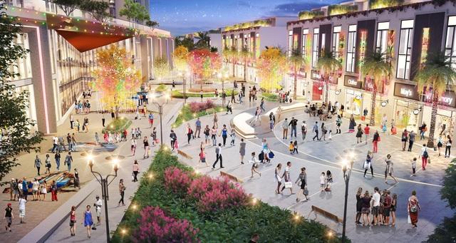 Ecopark sắp có tuyến phố đi bộ phong cách Hàn Quốc dài bậc nhất Việt Nam - Ảnh 1.