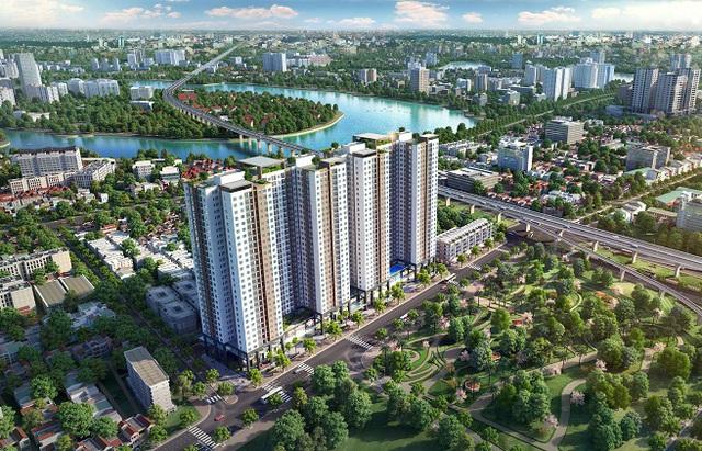 Thị trường BĐS quận Hoàng Mai: Thiếu nguồn cung căn hộ mới - Ảnh 2.
