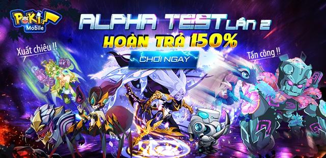 Game Poki Mobile chính thức Alpha Test lần 2, ấn định ra mắt ngày 5/5 - Ảnh 2.