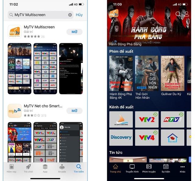 MyTV Multiscreen - tính năng đa màn hình hoàn hảo thời truyền hình công nghệ lên ngôi - Ảnh 1.