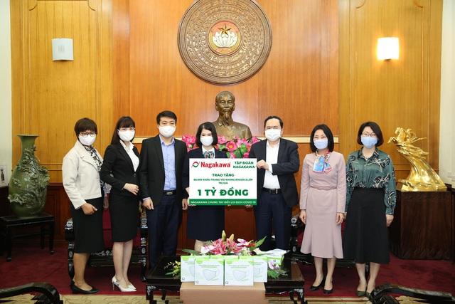 Tập đoàn Nagakawa ủng hộ 60.000 khẩu trang trị giá 1 tỷ đồng phòng, chống dịch Covid-19 - Ảnh 2.