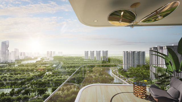 Triển khai tòa tháp đôi 41 tầng cùng hàng loạt tiện ích tầm cỡ trong Ecopark - Ảnh 1.