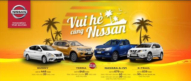 Nissan ưu đãi đặc biệt cho toàn bộ dòng xe đang bán tại Việt Nam - Ảnh 1.