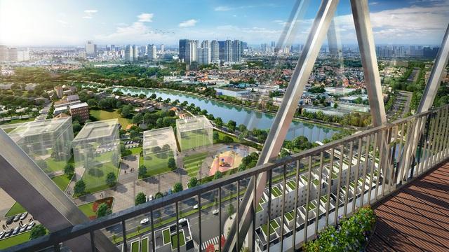 Chính thức mở bán tòa căn hộ V1 sở hữu view hồ tại dự án The Terra – An Hưng - Ảnh 1.