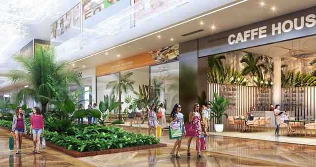Triển khai tuyến phố đi bộ như trong sân bay Changi giữa lòng toà tháp cao cấp nhất Ecopark - Ảnh 2.