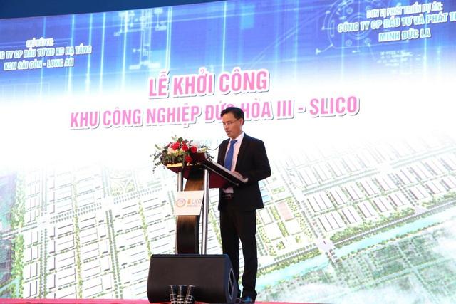 Chính thức khởi công dự án Khu công nghiệp Đức Hòa III – SLICO - Ảnh 2.