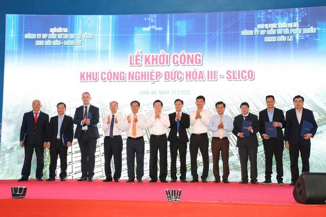 Chính thức khởi công dự án Khu công nghiệp Đức Hòa III – SLICO - Ảnh 3.
