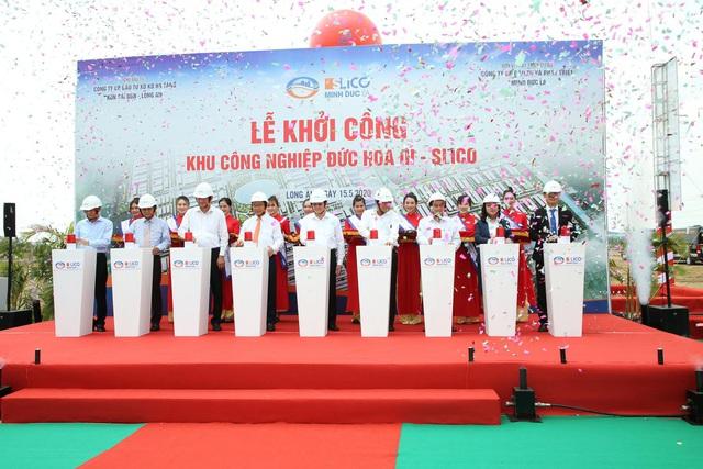 Chính thức khởi công dự án Khu công nghiệp Đức Hòa III – SLICO - Ảnh 4.