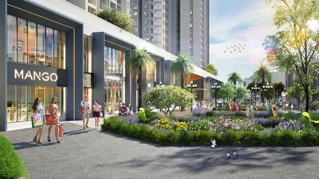Triển khai tuyến phố đi bộ như trong sân bay Changi giữa lòng toà tháp cao cấp nhất Ecopark - Ảnh 6.