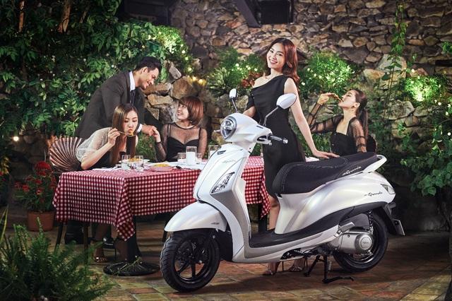 """Yamaha tung ưu đãi """"khủng"""" nhân dịp Grande trở thành xe tay ga tiết kiệm xăng số 1 Việt Nam - Ảnh 2."""
