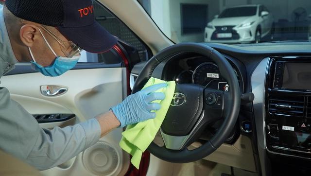 Toyota ưu đãi bảo dưỡng xe đến 20% - Ảnh 2.
