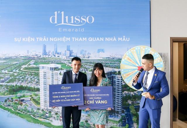 Nhà mẫu d'Lusso đón hàng trăm khách tham quan, tín hiệu vui cho thị trường căn hộ - Ảnh 3.
