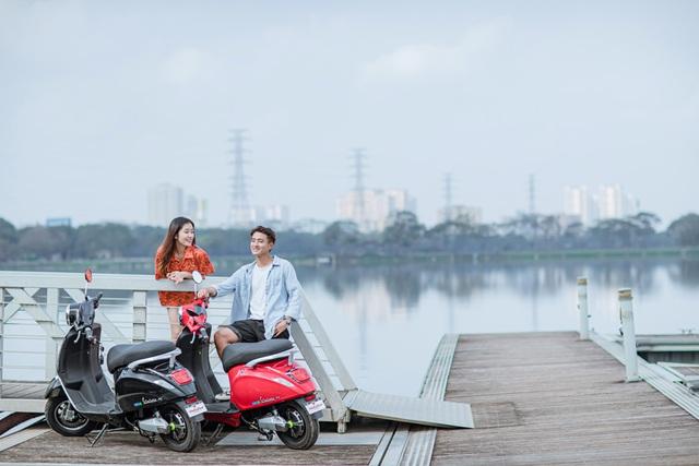 Khám phá Anbico ValerioX - Xe máy điện cho giới trẻ Việt - Ảnh 3.