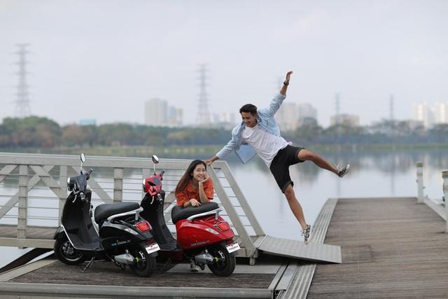 Khám phá Anbico ValerioX - Xe máy điện cho giới trẻ Việt - Ảnh 5.