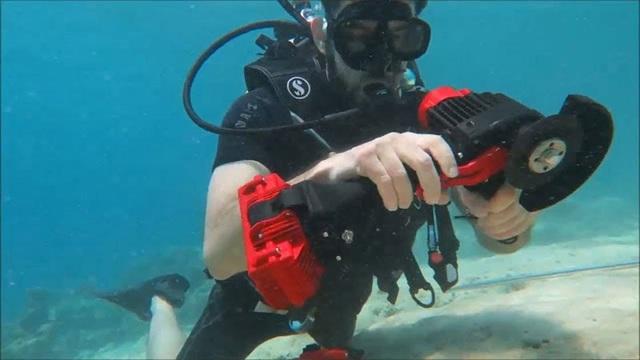 Giải pháp khoan, cắt, bắt vặn vít ốc cho các công trình dưới nước - Ảnh 1.