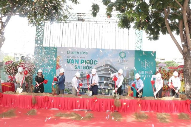 Khởi công Bệnh viện Vạn Phúc - Sài Gòn tại Van Phuc City - Ảnh 1.