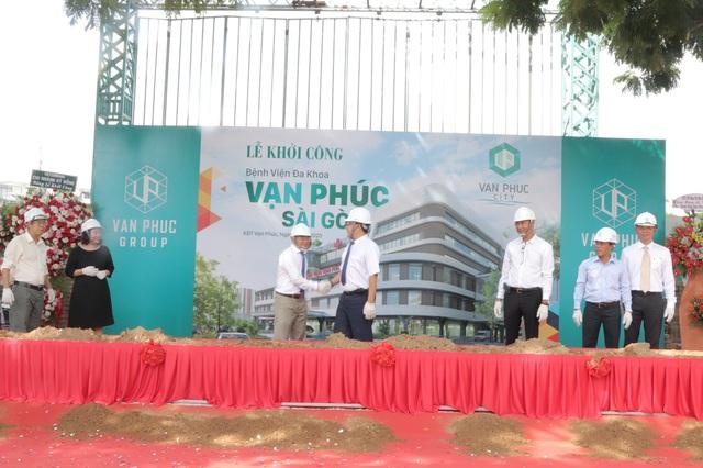 Khởi công Bệnh viện Vạn Phúc - Sài Gòn tại Van Phuc City - Ảnh 2.