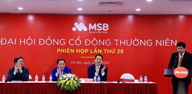 Đại hội cổ đông MSB đặt mục tiêu lợi nhuận năm 2020 đạt 1.439 tỷ đồng - Ảnh 1.