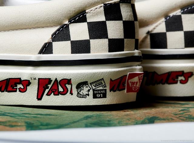 Vans x Fast Times nhắc lại màn debut kinh điển của đôi Slip-on Checkerboard những năm 80 - ảnh 4