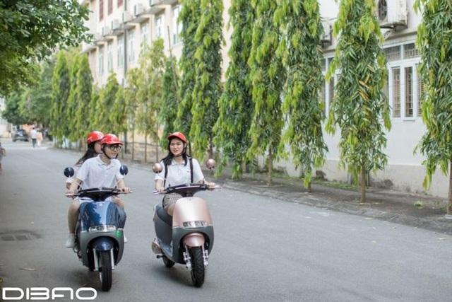 Giải mã sức hút xe máy điện Dibao trong lòng giới trẻ Việt - ảnh 5