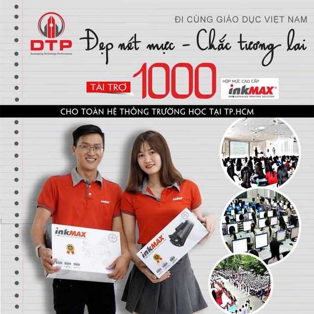 Công ty Cổ phần DTP trao tặng 1.000 hộp mực in cho các trường học tại TP.HCM - Ảnh 2.