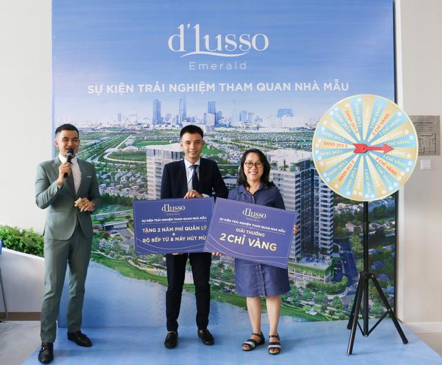 Hàng trăm khách hàng đến tham quan và trải nghiệm dự án dLusso quận 2 - Ảnh 2.