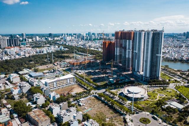 Eco Green Saigon ghi điểm nhờ tiến độ xây dựng - Ảnh 2.