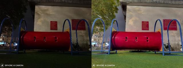 Thử thách bóng tối cùng Bphone B86, xem nhiếp ảnh điện toán có thể làm được gì - Ảnh 4.