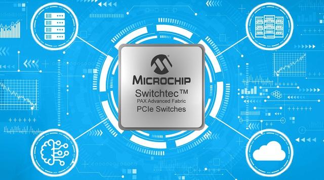 Các thiết bị chuyển mạch Switchtec™ PAX Advanced Fabric Gen 4 PCIe của Microchip được phát hành để sản xuất - Ảnh 1.