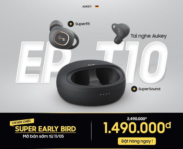 Ưu đãi 1 triệu cho tai nghe True Wireless từ Aukey gây sốt thời gian qua, hứa hẹn xác lập kỉ lục mới trên thương mại điện tử - Ảnh 1.