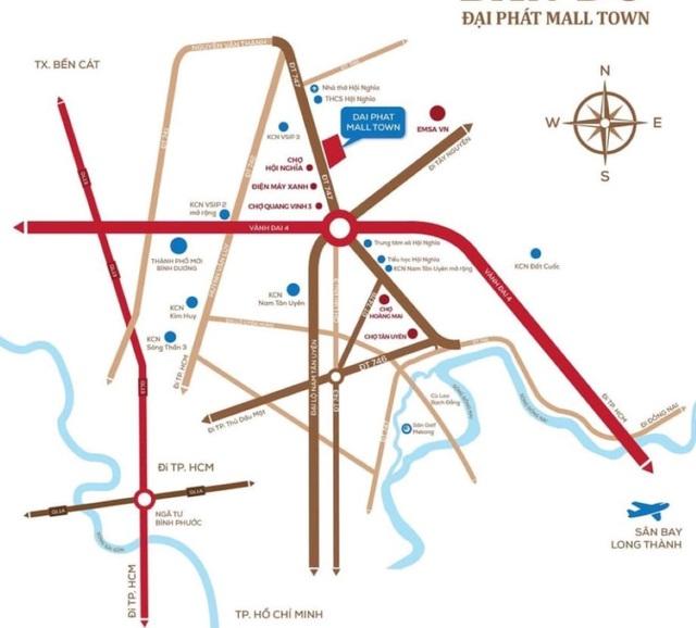 Hậu Covid-19, Đại Phát Mall Town hút nhà đầu tư - Ảnh 1.