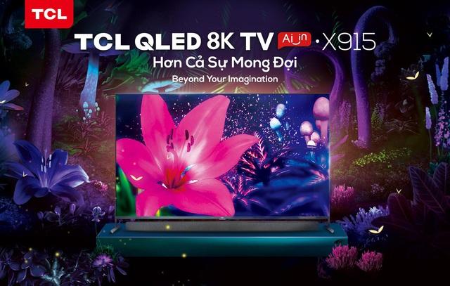 TCL ra mắt loạt sản phẩm công nghệ cải tiến mới 2020, đặc biệt là TV 8K. - Ảnh 3.