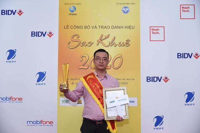 Smartlog: Danh hiệu Sao Khuê 2 năm liên tiếp cho phần mềm quản lý logistics - Ảnh 1.