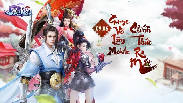 Ngự Kiếm Mobile chính thức mở cửa Alpha Test tại Việt Nam - Ảnh 1.