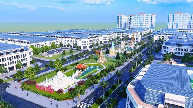 Bất động sản Phổ Yên (Thái Nguyên) điểm sáng từ khu công nghiệp Samsung - Ảnh 1.