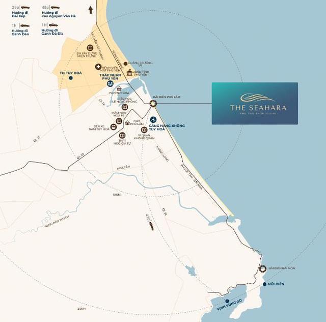 Sắp ra mắt 46 lô shop villas mặt biển tại Phú Yên - Ảnh 1.