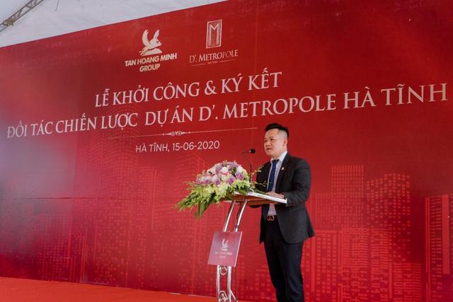 D'. Metropole Hà Tĩnh góp phần làm thay đổi diện mạo của thành phố Hà Tĩnh - Ảnh 1.