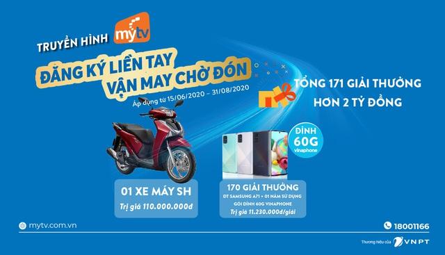 Lắp truyền hình MyTV, đón hè cực đỉnh với kho quà tặng hơn 2 tỷ đồng - Ảnh 1.