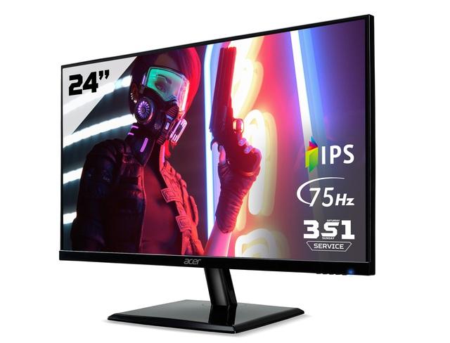 Acer EK241Y: Màn hình màu sắc đẹp trong phân khúc gaming phổ thông - Ảnh 1.