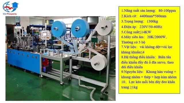 Cần chuẩn hóa dây chuyền sản xuất khẩu trang trước khi nghĩ đến thị trường xuất khẩu - Ảnh 3.