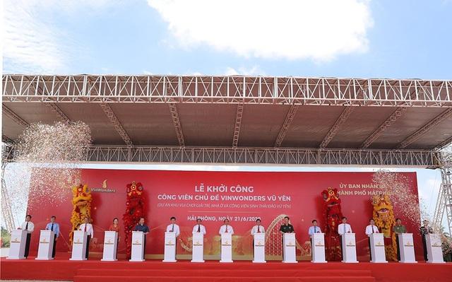 Vingroup khởi công dự án công viên chủ đề lớn bậc nhất tại Việt Nam - Ảnh 1.