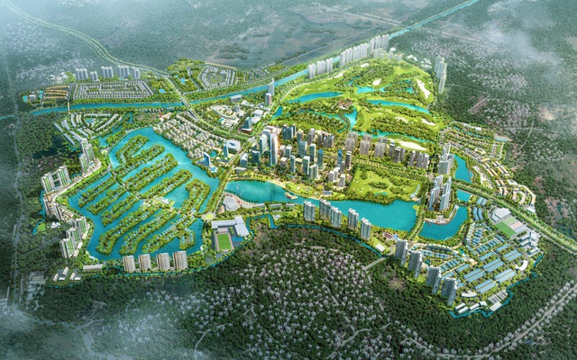 Đông Hà Nội có khu đô thị sở hữu thiết kế cảnh quan đẹp bậc nhất thế giới - Ảnh 1.