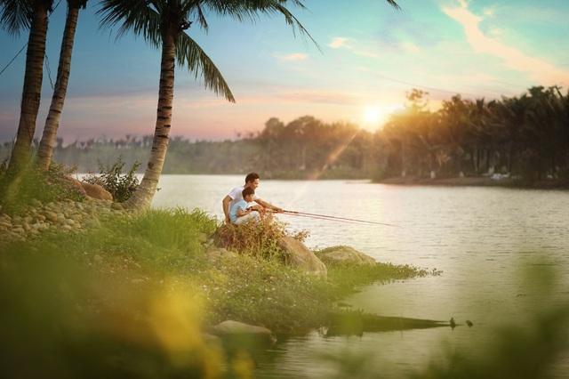 Đông Hà Nội có khu đô thị sở hữu thiết kế cảnh quan đẹp bậc nhất thế giới - Ảnh 4.