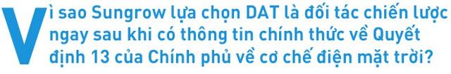DAT ký thỏa thuận hợp tác 100 MW với Sungrow Việt Nam - Ảnh 2.