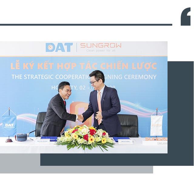 DAT ký thỏa thuận hợp tác 100 MW với Sungrow Việt Nam - Ảnh 3.