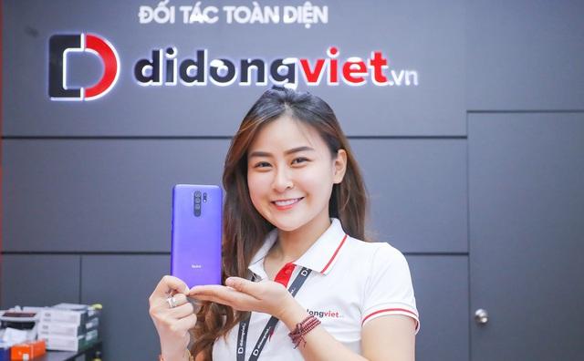 Xiaomi Redmi 9 chính thức mở bán tại Di Động Việt: Pin 5020mAh, 4 camera sau, giá chỉ 2,9 triệu đồng trong 3 ngày - Ảnh 1.