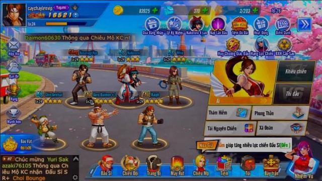 Game thủ đổ bộ KOF AllStar VNG - Quyền Vương Chiến: hơn 20 server khai mở, Event tặng FREE Kim Cương ngập mặt - Ảnh 3.