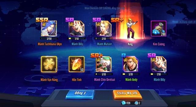 Game thủ đổ bộ KOF AllStar VNG - Quyền Vương Chiến: hơn 20 server khai mở, Event tặng FREE Kim Cương ngập mặt - Ảnh 4.