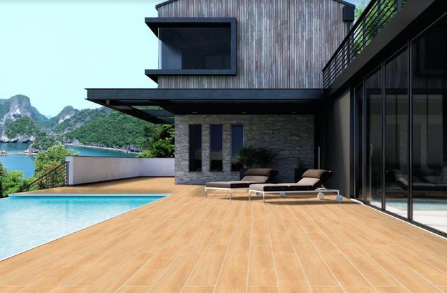 Xu hướng sử dụng gạch gỗ ở không gian ngoài trời - Ảnh 2.